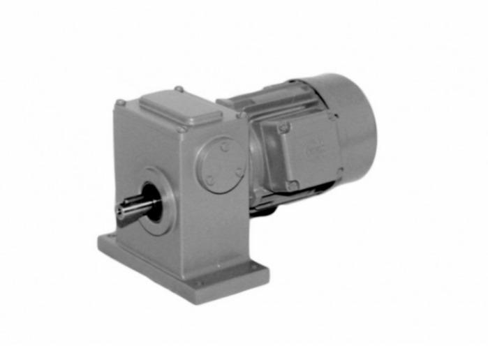 SN2 - Two-stage gear drive with solid shaft