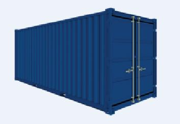 Lagercontainer -