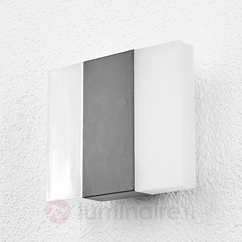 Börje - applique d'extérieur LED carrée - Appliques d'extérieur LED