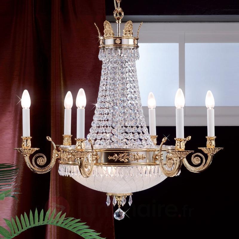 Lustre EMPIRE CRYSTAL 12 lampes - Lustres en cristal