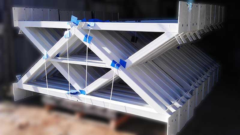 Light steel construction -