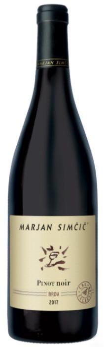 Pinot Noir 2017 Marjan Simcic - Slovenian Wine Pinot Noir 2017 Marjan Simcic