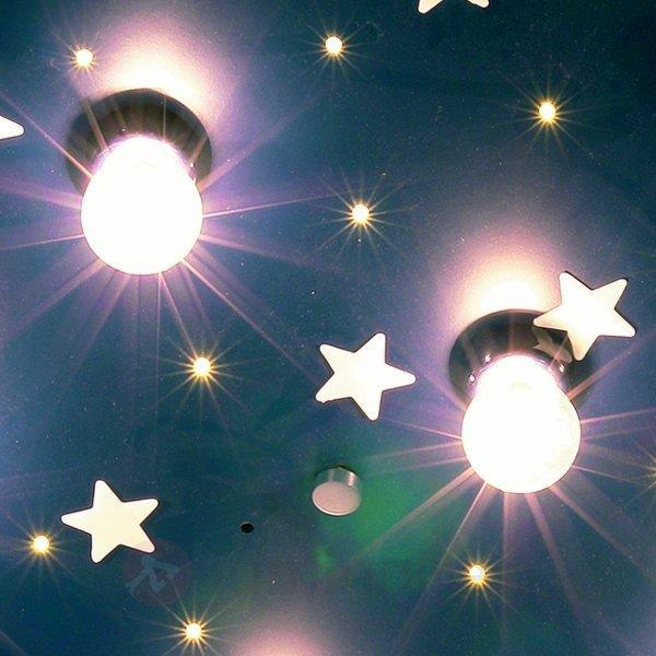 Plafonnier NUAGE XXL fluorescent - Chambre d'enfant