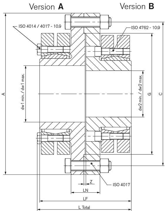 Flange Couplings - RfN 5571