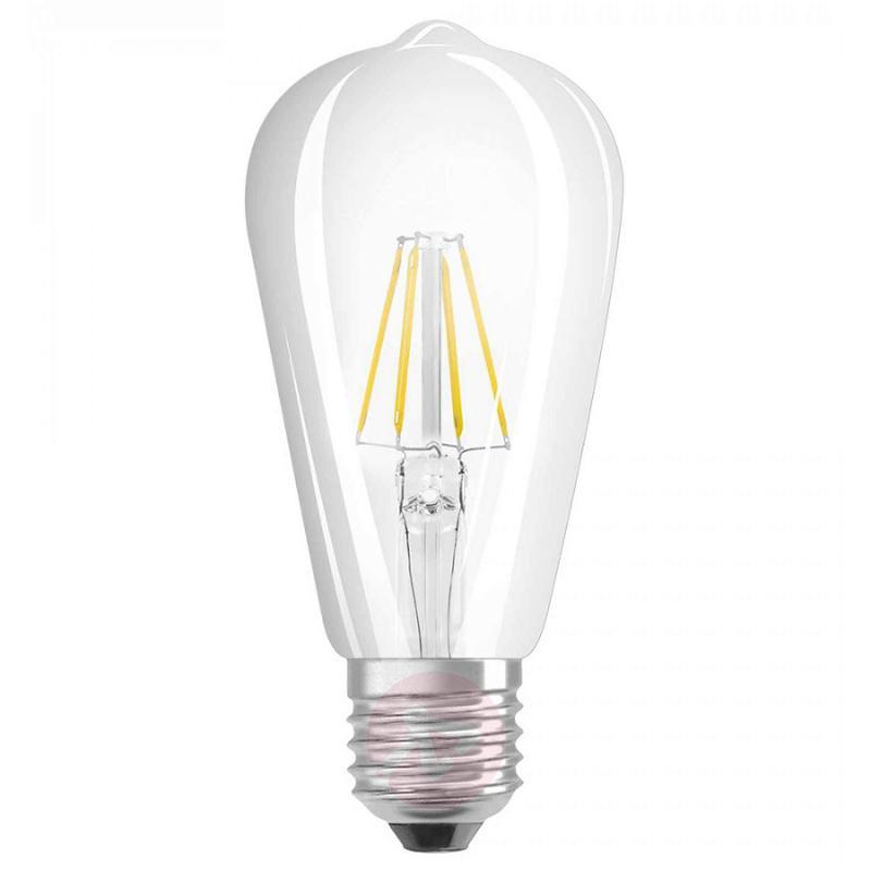 E27 6 W 827 retrofit LED rustic bulb clear - light-bulbs