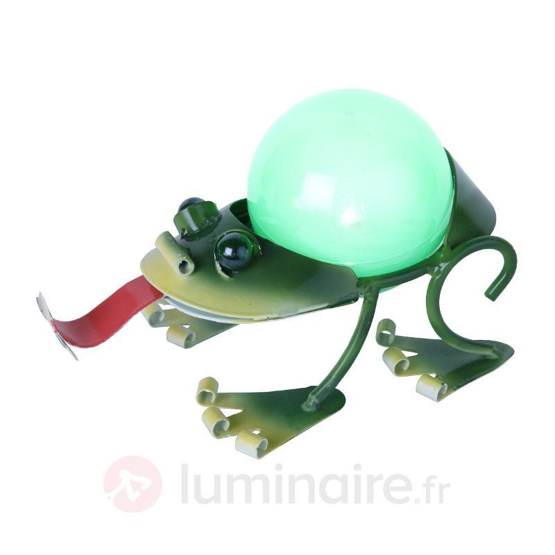 lampe solaire de décoration LED Grenouille - Lampes solaires décoratives
