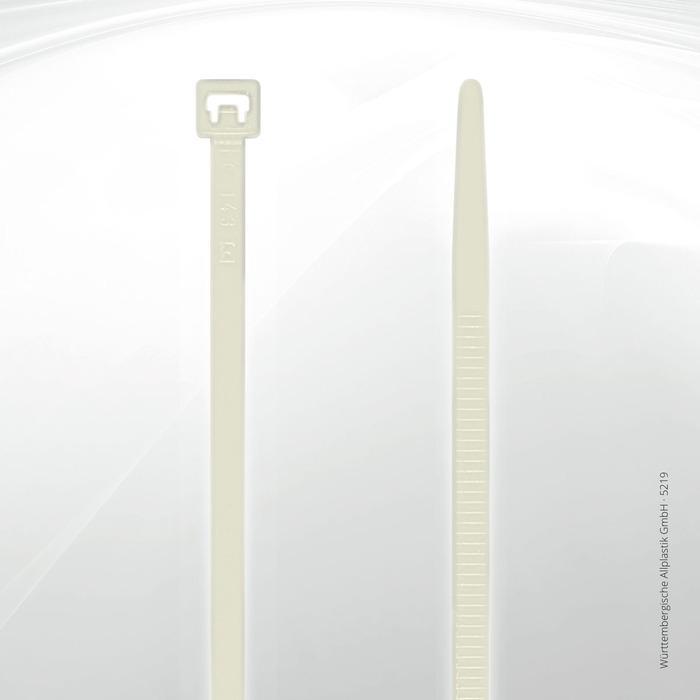 Allplastik-Kabelbinder® cable ties, standard - 5219 (natural)