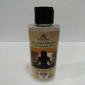 Ancient healer meditation blend 200ml - Meditation massage oil blend