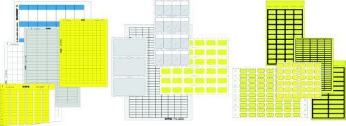 Etiketten und Kabelmarkierer - Kennzeichnungssysteme: Etiketten und Kabelmarkierer