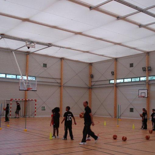 Bâtiments Sports et Loisirs à couverture textile - Système de construction - Bâtiments sportifs et Espaces Loisirs