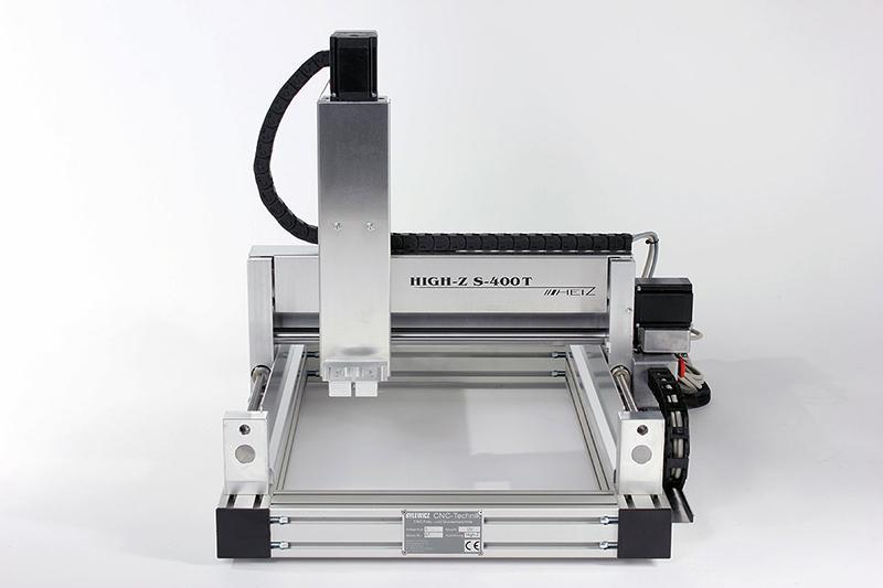 CNC Fräsmaschine für den Modellbau oder Kleingewerbe - CNC Fräse High-Z S-400/T Kugelgewindetrieb 400x 300 mm