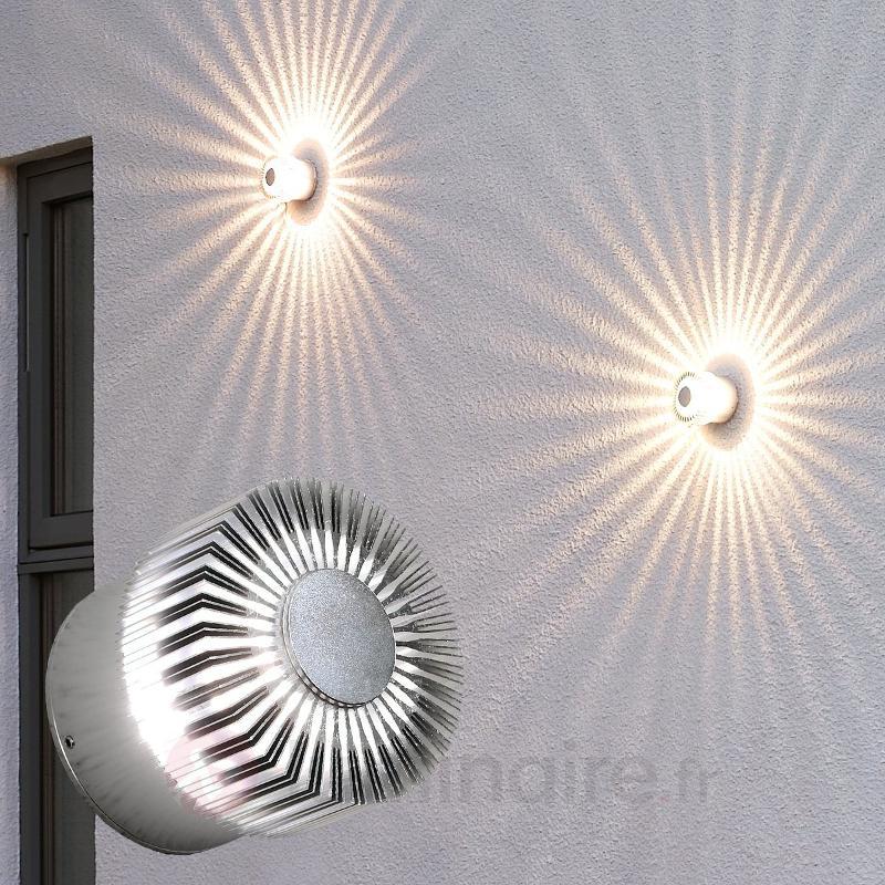 Extraordinaire applique d'extérieur LED Monza