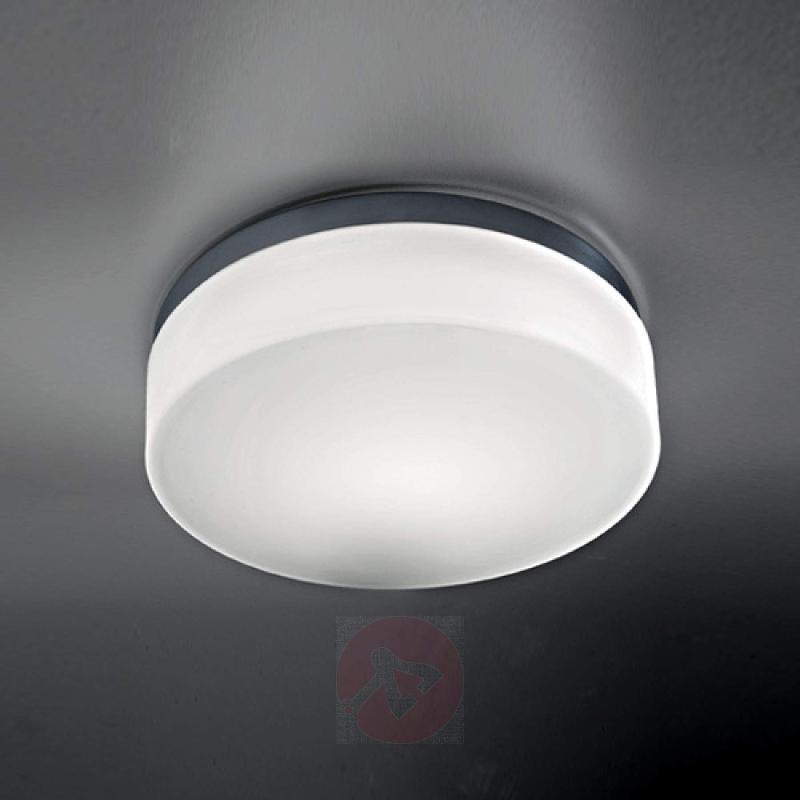 Bathroom ceiling light Drum IP44, 30 cm - design-hotel-lighting