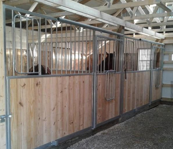 horse Equestrian Barns/stall - European Internal Portable Horse Stall Panels