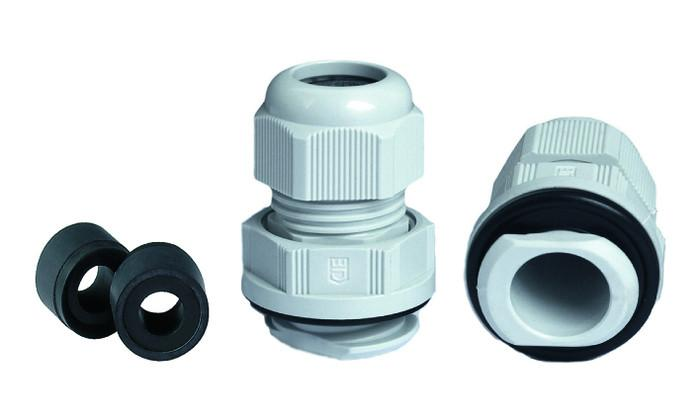 PERFECT Fix cable gland polyamide - quick and easy installation without locknut, for hard to reach places