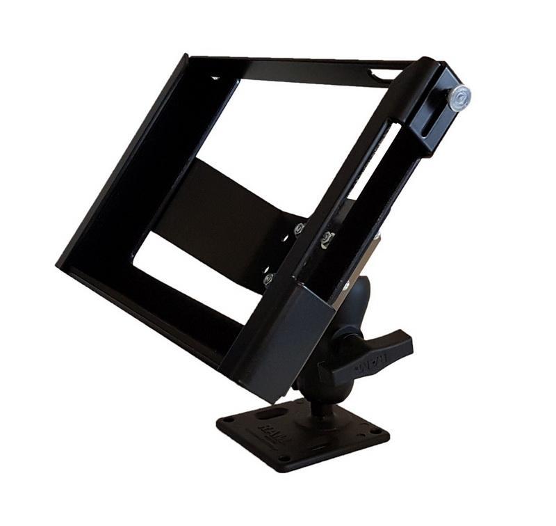 """Max Michel Fahrzeug-Halterung für Zebra ET50/ET55, ET51/ET56 - Rugged Frame, passend für Zebra 8"""" Tablet Computer, inkl. Aufsatzbügel"""