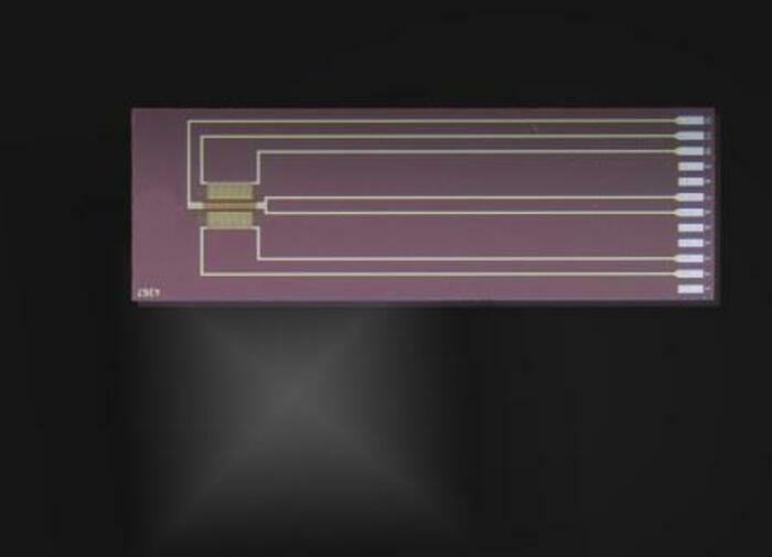Silicon Flow Sensor SFS01 - null