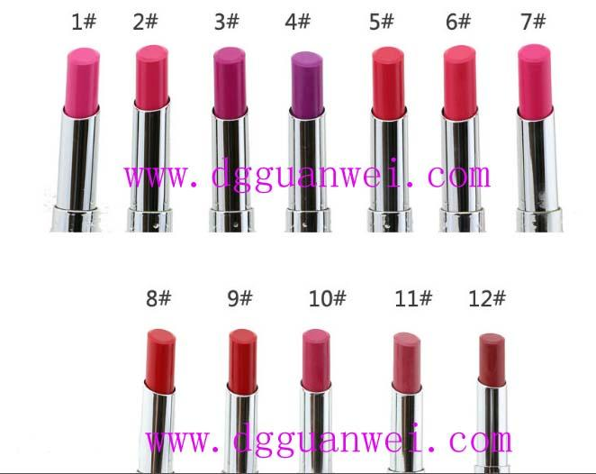 Cosmetics - Long Lasting water proof, fruit smell, transparent color LIPSTICK