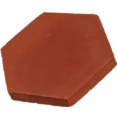 Carreaux d'argile hexagones Gillaizeau - null