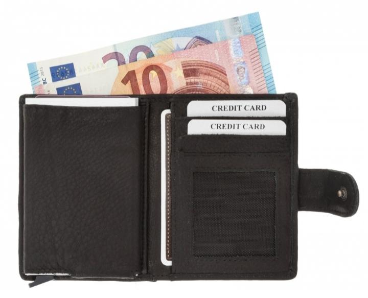 RFID Mini Wallet - Leren Mini wallet met RFID