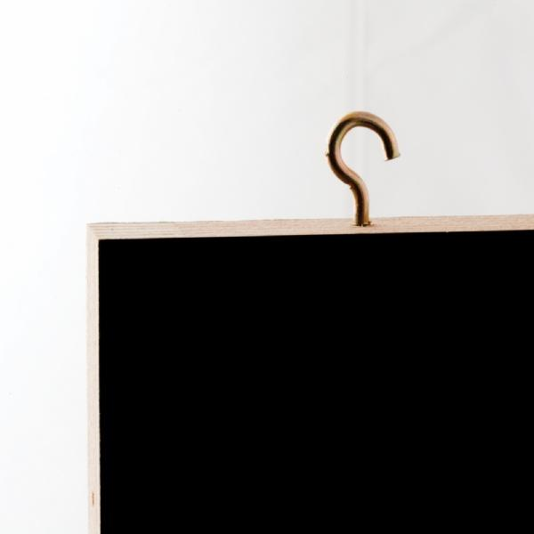 Wood Displays - Tableau Noir