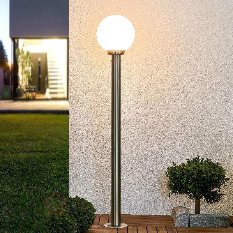 Vedran - éclairage pour chemin en inox - Bornes lumineuses inox