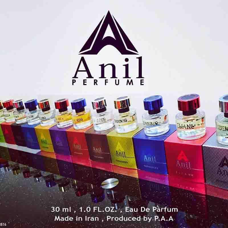 parfum de production - Dans les différents concentrés