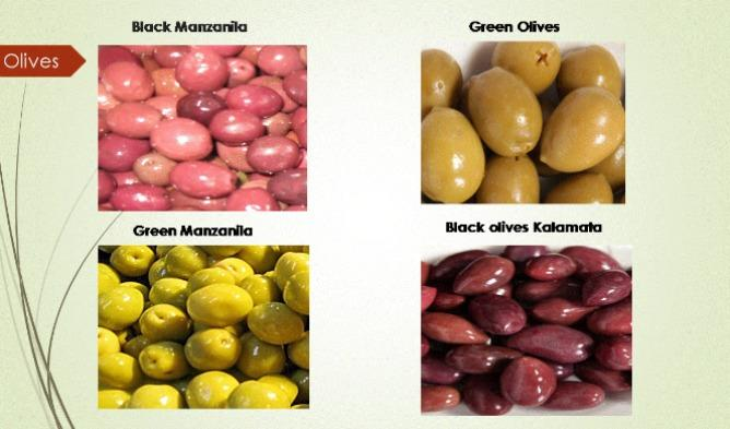 Olives in brine  - olives