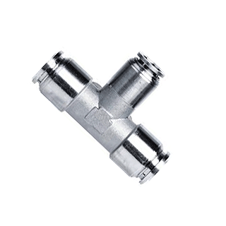 316 Stainless Steel Push in Fittings, Pneumatic Fittings - 316 Stainless Steel Push in Fittings, 316 SS Push to Connect Fittinngs
