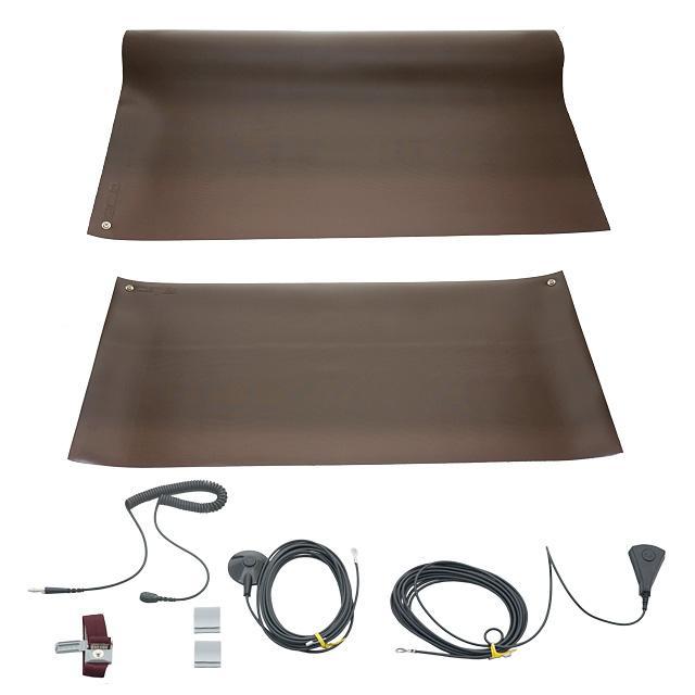 WORKSTAT KIT BROWN TABLE/FLOOR - SCS 8021