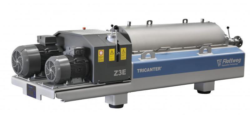Centrifuga Decanter Z3E - Il decanter Flottweg Z3E: versatile, facile da manutenere e ad alta prestazione