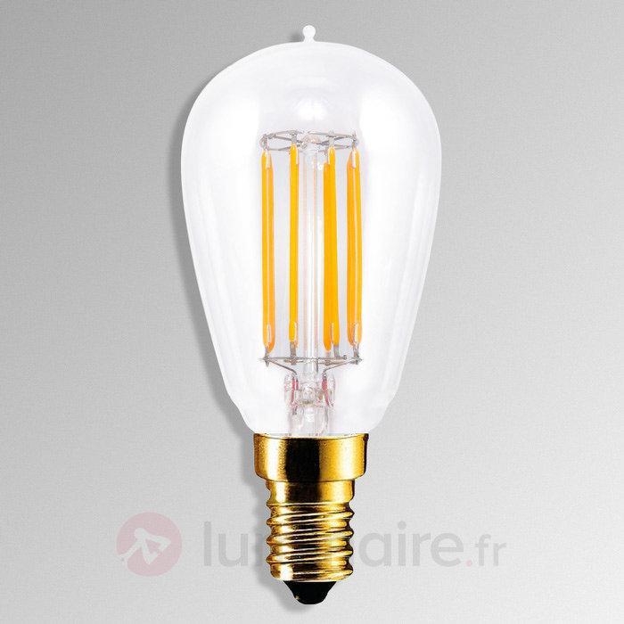 Ampoule LED E14 4,7W 922 à filament - Ampoules LED E14
