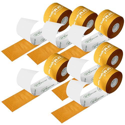 SFMighty Tape silk in Folie 5cmx5m Kinesiologie gelb (6) - null