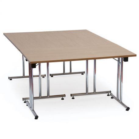 Table De Réunion Pliante Domo 160 X 80 Cm - Tables De Collectivités
