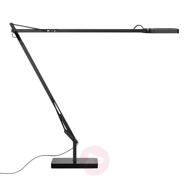 Black LED desk lamp Kelvin Edge - Table Lamps