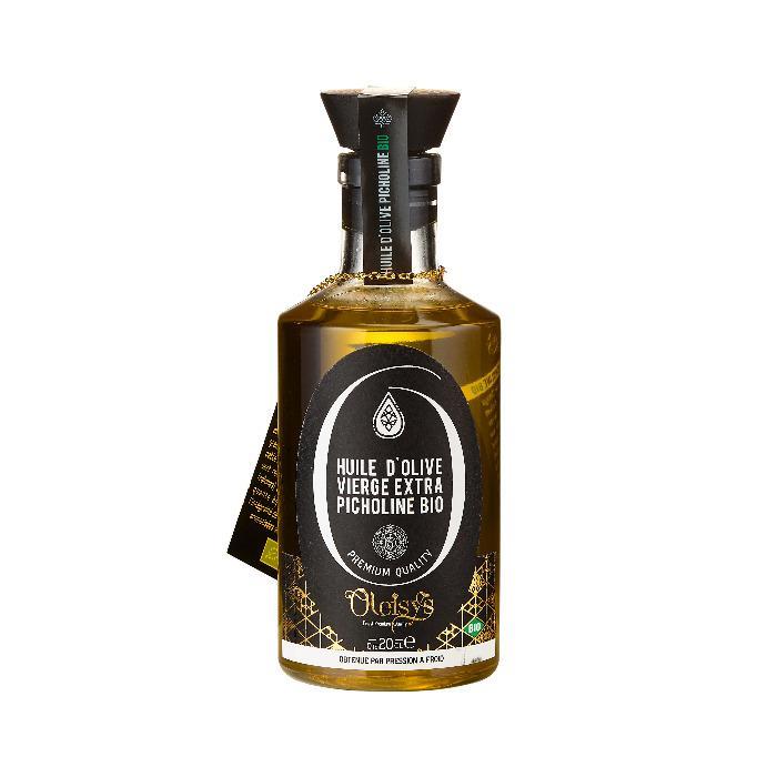Huile d'olive Vierge Extra Picholine Bio Oleisys® - Huile d'olive Vierge Extra Picholine Bio Oleisys® Flacon bijoux 200 ML