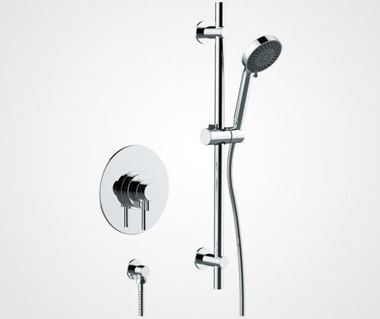 Concealed concentric shower valve - British Faucet