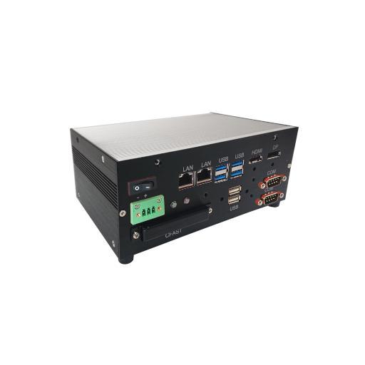 Box PC: BPC-200-MS4505D Core-i5 DIN-Rail Kaby Lake - Große Leistung auf engem Raum, Hutschienen PC mit Intel Core i5 CPU