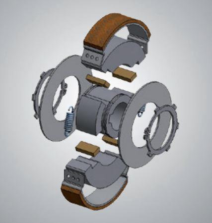 Fliehkraft-Bremse - Fliehkraft-Bremsen für Ihre Anforderung