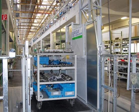 GEDA 1200 ZM P - GEDA 1200 ZM P - Materialaufzüge