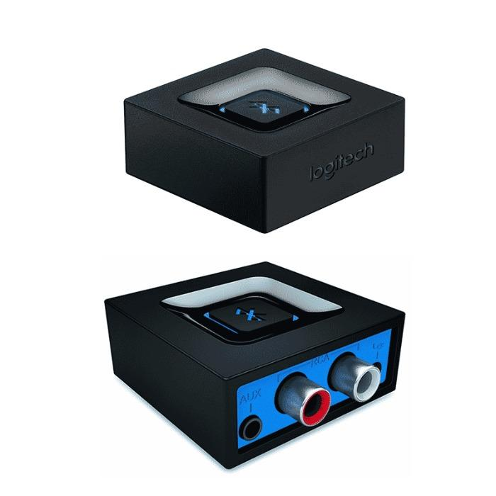 Audio Adapter van Logitech - Logitech Audio Adapter 980-000912 Audio Adapter zwart