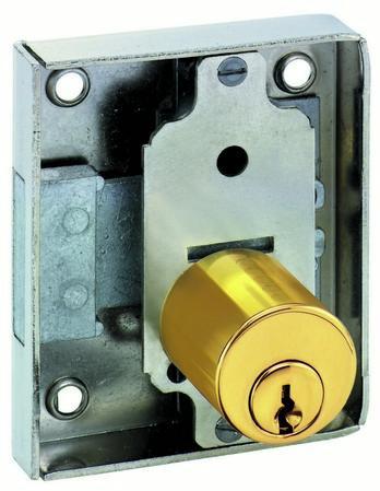 Interchangable cylinder core system - Espagnolette lock