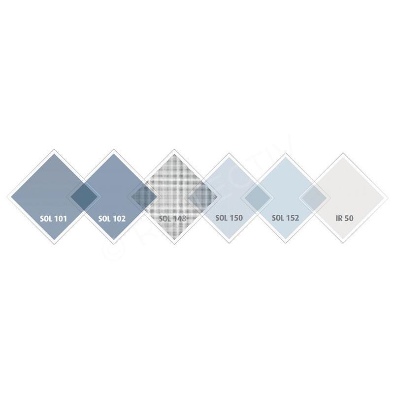Film anti chaleur argent 0.75 x 2.5 m - SOL102 - Extérieur - Aménagement intérieur
