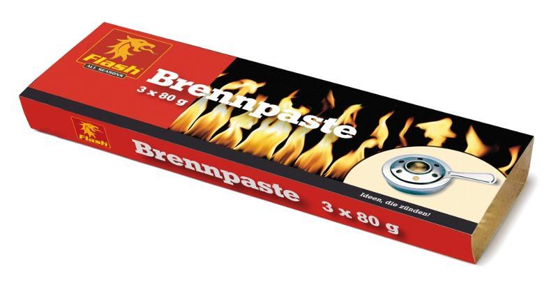 FLASH Brennpaste 3 x 80 g - null