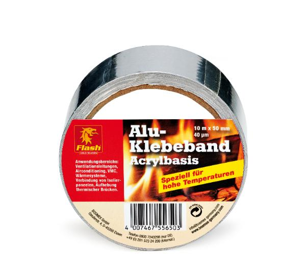 FLASH Kamin-Alu-Klebeband 10 m -