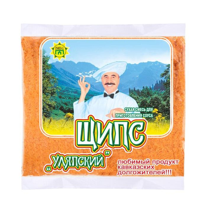 Dry mixture for cooking sauces and gravies - Ulyap shchips sauce