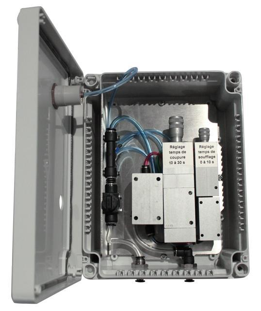 AirPuls Eco : système de temporisation pneumatique - Optimisation des coûts, réduction de la consommation en air comprimé et du bruit
