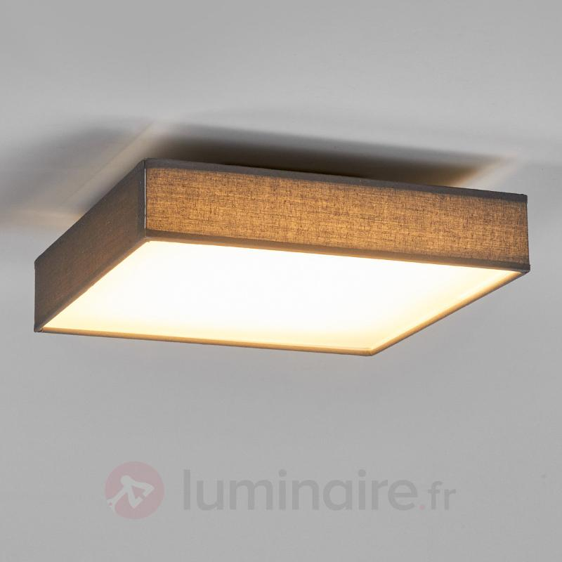 Plafonnier en textile Aka LED, rectangulaire - Plafonniers en tissu