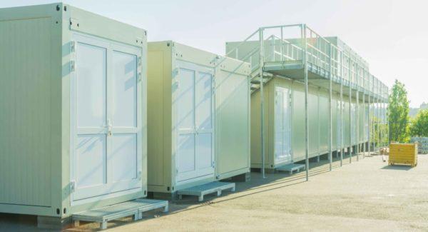 Locker Room Bungalow - Locker Room Container