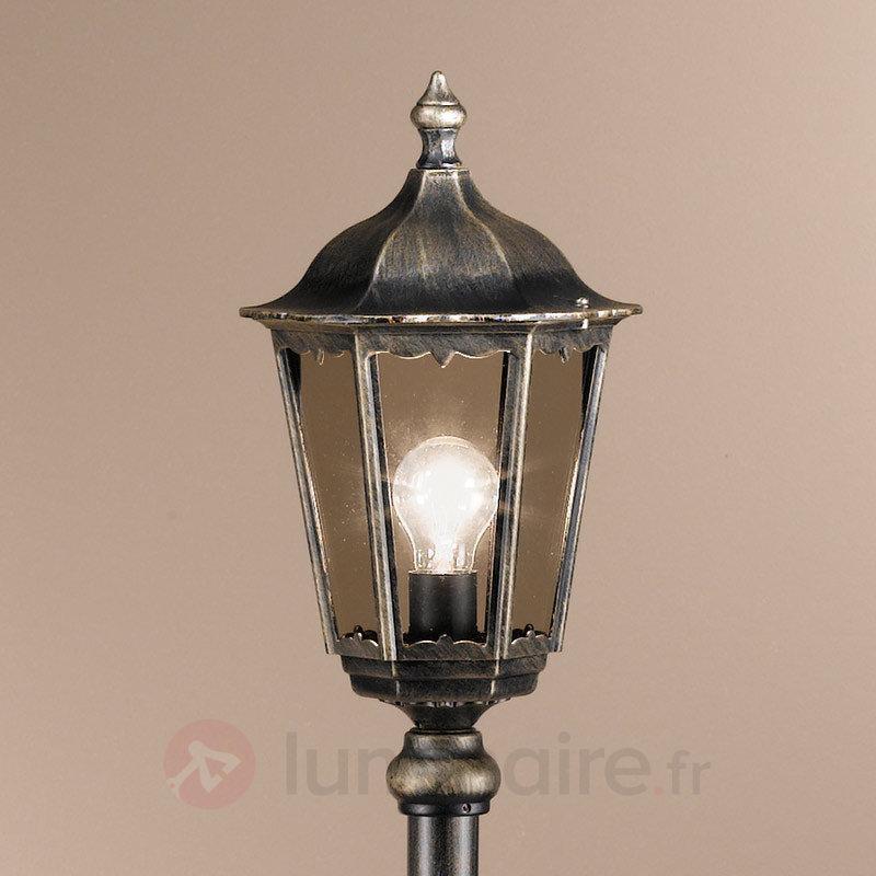 Borne lumineuse Fabio traditionnelle 140 cm - Toutes les bornes lumineuses